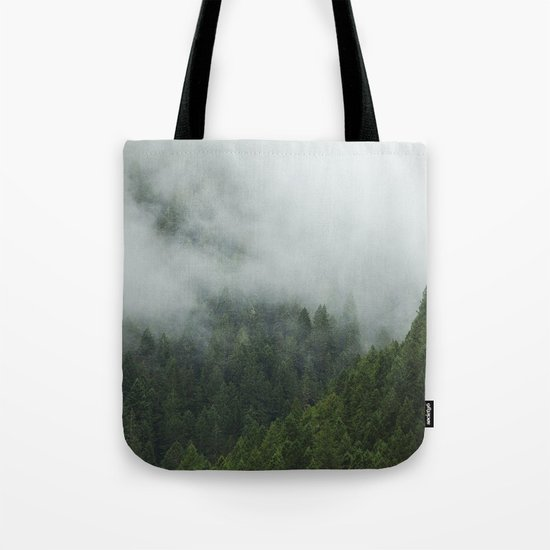 Tree Fog Tote Bag