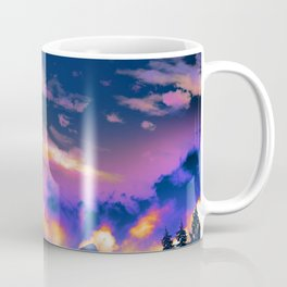 Night Sky Sunset Coffee Mug