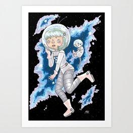 Space Buddies Art Print