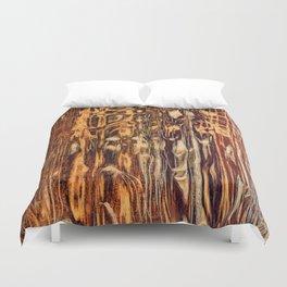 Grunge Wood Duvet Cover