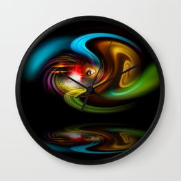 Abstract Perfection - Magical Light And Energy 2 Wall Clock