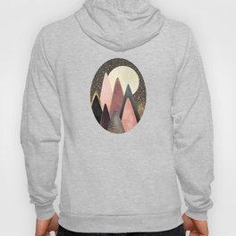 Pink and Gold Peaks Hoody