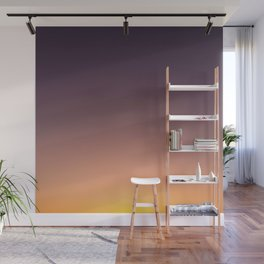 LA sunset sky gradient 0041 Wall Mural