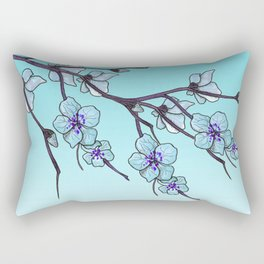 Frozen flower Rectangular Pillow
