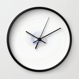 Dry Ice Swirl Wall Clock
