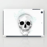 skeleton iPad Cases featuring skeleton by Sophie Rousseau