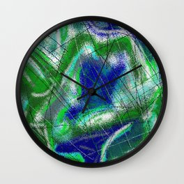 New World Matt Texture Abstract VII Wall Clock