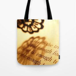 Words number 5 Tote Bag