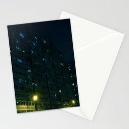 2019 Kowloon City Night View, Hong Kong Stationery Cards