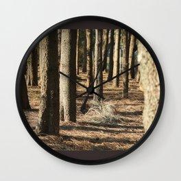 Urban Wood Wall Clock