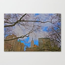 Empire State Building from Madison Square Park - NYC Canvas Print