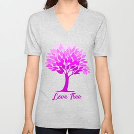 Love tree Unisex V-Neck