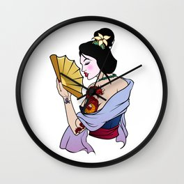 Princess Mulan Wall Clock