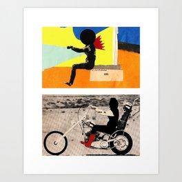 Run to me Art Print