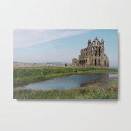 Cathedral Ruins Metal Print