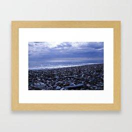 BLUE BEACH of SICILY Framed Art Print