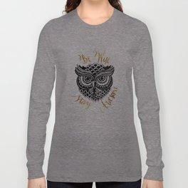 Owlsome Long Sleeve T-shirt