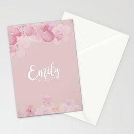 Name Emily Stationery Cards