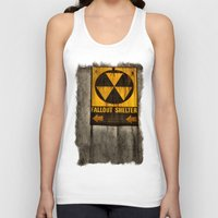 fallout Tank Tops featuring Fallout Shelter by Julie Maxwell