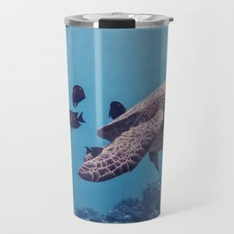 Sea Turtles In The Deep Travel Mug