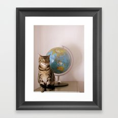 The World Is Not Enough Framed Art Print