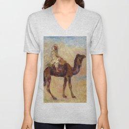 """Auguste Renoir """"A dos de chameau"""" Unisex V-Neck"""