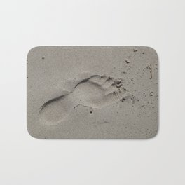 Footprint Bath Mat