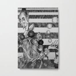 Juggler Metal Print