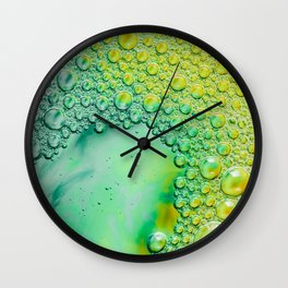Photography, Photo Print, Wall Art Office Image, Office Print, Bubble Photo, Colorful Pic, Work Spac Wall Clock