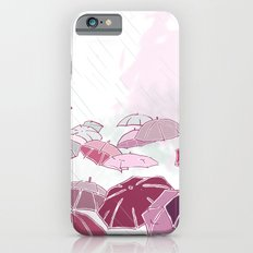 Rainy day in pink Slim Case iPhone 6s