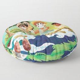 Tom Sawyer Floor Pillow