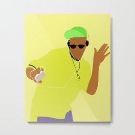 The Fresh Prince of Bel-Air 90s tv show Metal Print