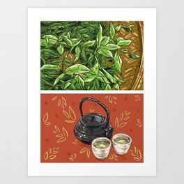 Foodie: It's Tea Time Art Print