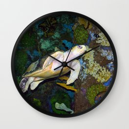 The Kemp's Ridley Sea Turtle Wall Clock