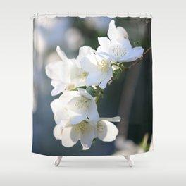 Healing Hawthorn Flowers Shower Curtain