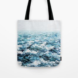 Atlantic Blues Tote Bag