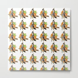 sexywitchpattern Metal Print