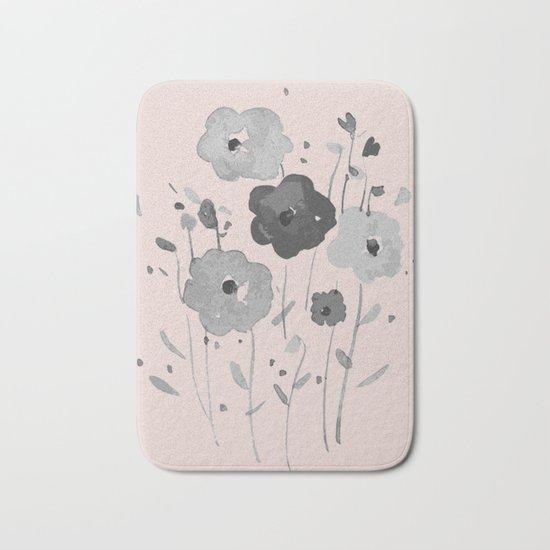 Whimsical spring bloom Bath Mat