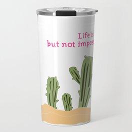 Cactus/Desert_concept_Design Travel Mug