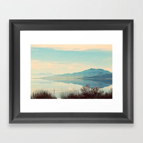 REFLECTIN' Framed Art Print