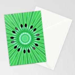 Digital art kiwi Stationery Cards