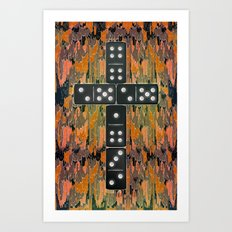 Holy Domino Art Print