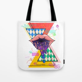 Vomiting Galaxy Tote Bag