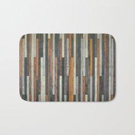 Wood Paneling Bath Mat