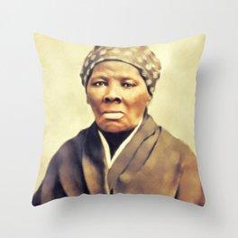 Harriet Tubman, Civil Rigts Activist Throw Pillow