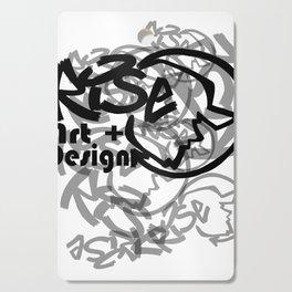 RISE - Full Tag Logo Cutting Board