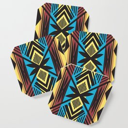 American Native Pattern No. 202 Coaster