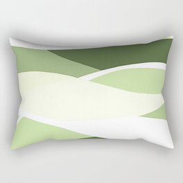 Celery Vibrations Rectangular Pillow