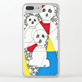 Skulls & Buddha No. 27 Clear iPhone Case