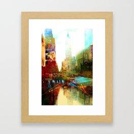 The indestructible city Framed Art Print